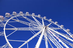 Warm summer day at the carnival. Day light Royalty Free Stock Photography