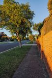 Warm summer evening in Hallam. Stock Images