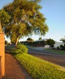 Warm summer evening in Hallam. Stock Photography