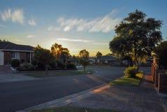 Warm summer evening in Hallam. Stock Image
