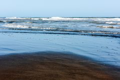 Warm summer sea, surf Stock Photos