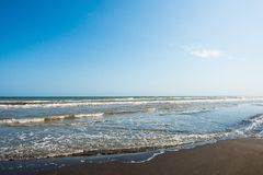 Warm summer sea, surf Royalty Free Stock Images