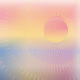 Warm Summer Sun Royalty Free Stock Images