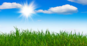 Warm summer weather Stock Photography