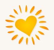 Warm sun Stock Image