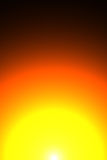 Warm sun background. Illustration of warm bright sun stock illustration