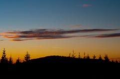 Warm sunset Royalty Free Stock Photography