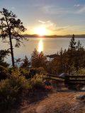 Warm Sunset Royalty Free Stock Photo