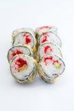 Warm sushi roll Stock Image
