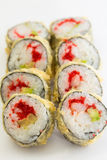 Warm sushi roll Stock Image