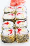 Warm sushi roll Stock Photography