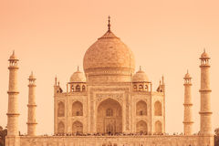 Warm Taj Royalty Free Stock Photography
