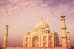 Warm Taj Royalty Free Stock Photos