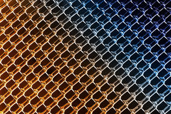 Warm to Cool Colors in Ice Diamond Patterns Stock Photography