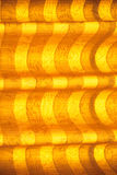 Warm tone blinds or curtains and abstract natural sunlight Royalty Free Stock Images