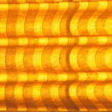 Warm tone blinds or curtains and abstract natural sunlight Stock Photo