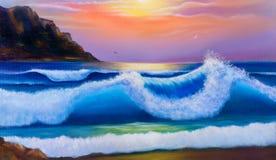 Warm topical sea. Royalty Free Stock Photo