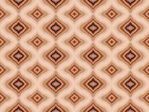 Warm Turkish Seamless Tile Stock Image