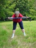 Warm-up exercises royalty free stock photos