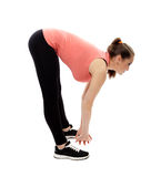 Warm up and stretching Royalty Free Stock Photo
