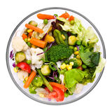 Warm vegetable salad Royalty Free Stock Photography