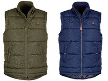 Warm vest twee royalty-vrije stock foto