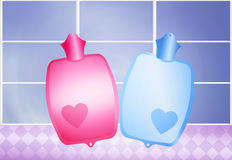 Warm Water Bags Royalty Free Stock Photos