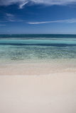 Warm Waters of the Caribbean Sea Royalty Free Stock Images