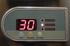 Warm watertemperatuur Royalty-vrije Stock Afbeelding