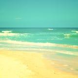 Warm Wavy Beach Royalty Free Stock Photos