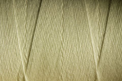 Warm White spool of thread Stock Images