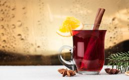 Warm wine Royalty Free Stock Image