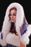 Warm winter coat Royalty Free Stock Image