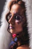 Warm winter coat Royalty Free Stock Photo