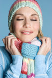 Warm Winter Girl Stock Photography