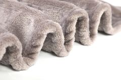 Warm winter pet hairy blanket. The cotton hairy warm winter blanket for dog cat and small pet Stock Photo