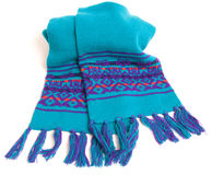 Warm winter scarf Stock Photo