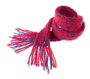 Warm Winter Scarf Stock Images
