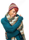Warm Winter Woman Royalty Free Stock Image