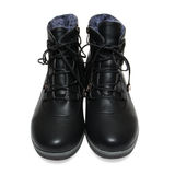 Warm women's shoes Stock Photo