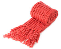 Warm wool scarf Stock Image