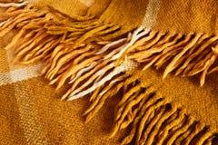 Warm woolen blanket Stock Photos