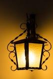 Warm yellow light Royalty Free Stock Photo