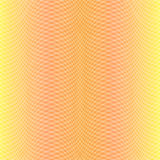 Warm Yellow Pattern. With Crossed Oblique Lines Making Cozy Fabric Like Background. Vector EPS 10 stock illustration