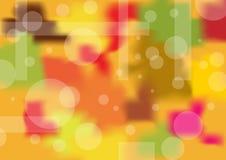 Warme abstracte achtergrond Stock Afbeeldingen