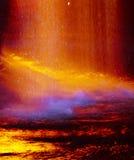 Warme abstracte kleuren Stock Foto's