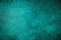 Warme Blauwe Geschilderde Achtergrond Stock Afbeelding