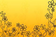 Warme Blumen stockfotografie