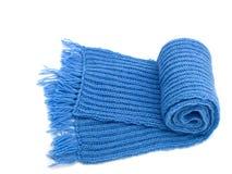 Warme gebreide sjaal Stock Foto