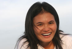 Warme Glimlach Royalty-vrije Stock Afbeelding